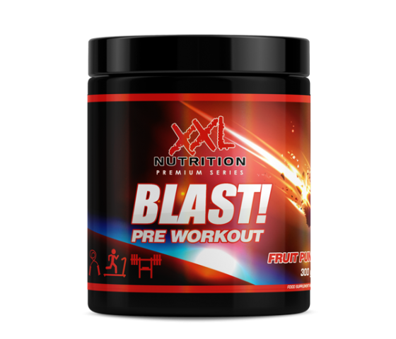 Blast! Pre Workout XXL Nutrition 30GR