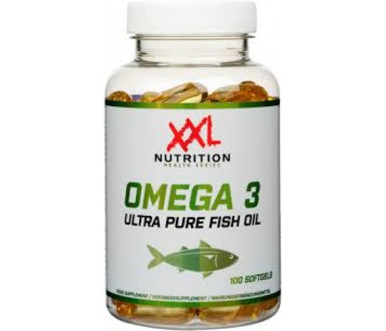 Omega 3 Fish Oil XXL Nutrition