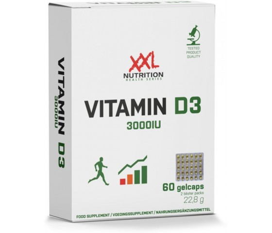 Vitamine D3 - 3000IU XXL Nutrition